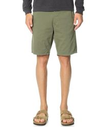 Rag & Bone | Green Standard Issue Shorts for Men | Lyst