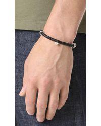 Scosha - Metallic Mantra Bracelet for Men - Lyst