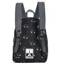 KENZO - Black Nylon Eyes All Over Backpack for Men - Lyst