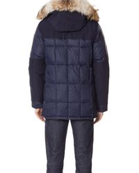 Canada Goose - Blue Callaghan Parka for Men - Lyst