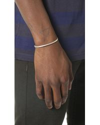 Le Gramme | Metallic Le 7 Grammes Brushed Silver Cuff for Men | Lyst