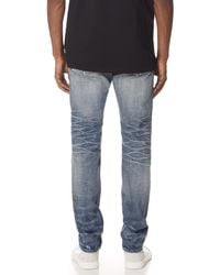 Fabric-Brand & Co. - Blue Zamir Selvedge Slim Fit Jeans for Men - Lyst