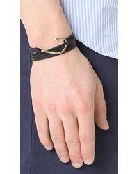 Miansai | Multicolor Hook Leather Bracelet for Men | Lyst