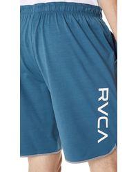 RVCA - Blue Va Sport Shorts Ii for Men - Lyst