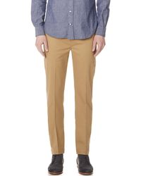 Levi's - Natural Sta Prest 502 Tapered Trousers for Men - Lyst