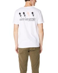 Obey - White Records Tee for Men - Lyst