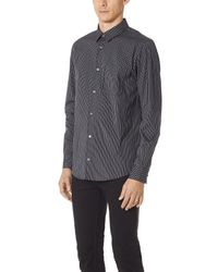 A.P.C. - Blue Will Shirt for Men - Lyst