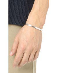 Le Gramme - Metallic 15 Grammes Polished Bracelet for Men - Lyst