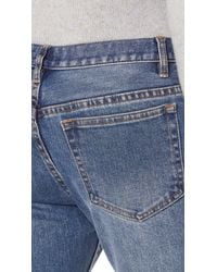 A.P.C. - Blue Stretch Petite Standard Jeans for Men - Lyst