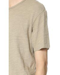 Rag & Bone - Natural Basic T-shirt for Men - Lyst