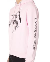McQ Alexander McQueen - Pink Clean Hoodie for Men - Lyst