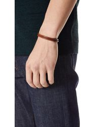 Miansai - Multicolor Mason Wrap Bracelet for Men - Lyst