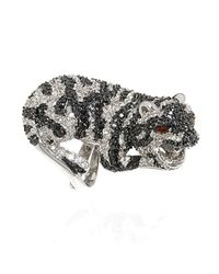 Noir Jewelry | Metallic Amelia The Tiger Ring | Lyst