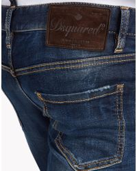 DSquared² - Blue Long Crotch Jeans for Men - Lyst