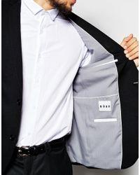 Noak - Jersey Blazer In Super Skinny Fit - Black for Men - Lyst