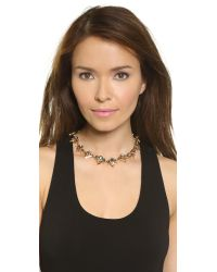 Elizabeth Cole | Multicolor Paige Necklace - Fireworks | Lyst