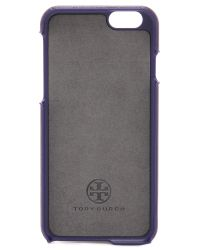 Tory Burch | Purple Robinson Hardshell Iphone 6 / 6s Case - Rose Gold | Lyst