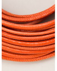 Brunello Cucinelli - Orange Multi Strand Choker - Lyst