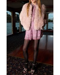 Giamba | Pink Large Flowers Shorts | Lyst