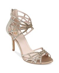 Vince Camuto   Metallic Wari Evening Sandals   Lyst