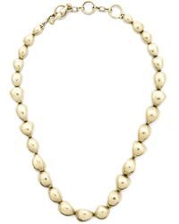 Vaubel | Metallic Small Pebble Necklace | Lyst
