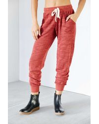 Project Social T - Red Jogger Pant - Lyst