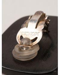 Monies - Brown Square Earrings - Lyst