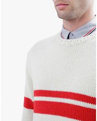 Wool And The Gang | White I Got Stripes Sweater for Men | Lyst