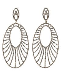 Carole Shashona - Metallic Women's Celestial Goddess Earrings - Lyst