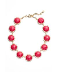 Trina Turk - Jeweled Collar Necklace - Dark Pink - Lyst