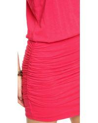Sundry - Red Sleeveless Dress - Grey - Lyst