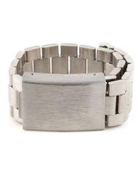 Acne | Metallic 'Elin' Bracelet | Lyst