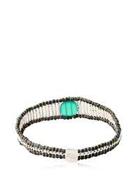 Ziio - Green Armonia Bracelet - Lyst