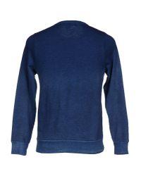 YMC - Blue Sweatshirt for Men - Lyst