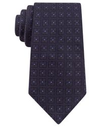 Michael Kors | Blue Michael Four Square Tie for Men | Lyst