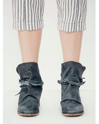 Free People - Blue Womens Moonshine Wrap Boot - Lyst