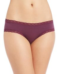Natori Foundations | Purple Bliss Girl Brief | Lyst
