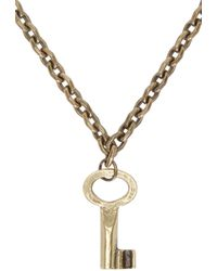 DSquared² - Blue Turquoise Cross Three_tier Necklace - Lyst