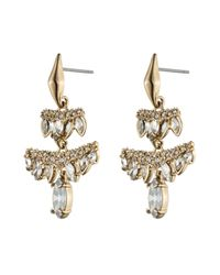 Alexis Bittar | Metallic Jagged Marquis Chandelier Earrings You Might Also Like | Lyst
