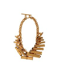 Scott Wilson | Metallic Swarovski Barrel Necklace | Lyst