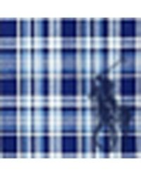 Polo Ralph Lauren   Blue Gingham Seersucker Sport Shirt for Men   Lyst