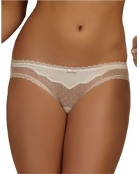 Felina | White Marielle Lace Panties | Lyst