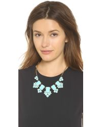 kate spade new york - Daylight Jewels Necklace - Nisbet Blue - Lyst
