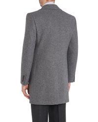 Chester Barrie | Gray Change Coat for Men | Lyst