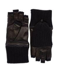 Carolina Amato | Black Poptop Gloves | Lyst