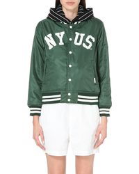 Chocoolate | Green Reversible Shell Jacket | Lyst