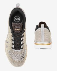 Athletic Propulsion Labs - Gray Techloom Performance Sneaker: Silver/gold - Lyst