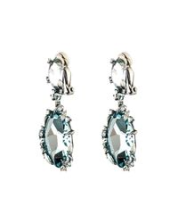 Alexis Bittar | Blue Midnight Marquis Drop Clip Earring You Might Also Like | Lyst