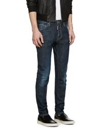 DSquared² - Blue Dark Easy Cool Guy Jeans for Men - Lyst