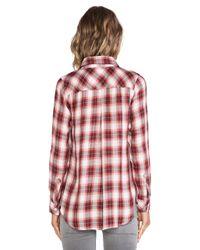 Rails - Red Hunter Plaid Shirt - Lyst